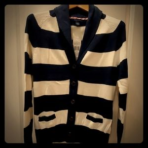 Tommy Hilfiger button-up cardigan large NWT